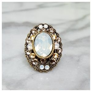 Anthropologie Adjustable Toujours Statement Ring
